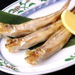 夢食房 魚とや - カラフトシシャモとは一味違う「本ししゃも」