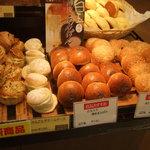 パン工場 - 白玉入り薄皮あんぱん買ってみました。