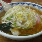 寿楽 - サンマー麺、旨い!