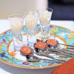 Grand rocher - モスカートダスティンのグラニテ 紅玉りんごのゼリー
