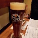ドイツビアハウス ハンブルク - 綺麗な赤褐色~キメ細かいビール(*^^*)