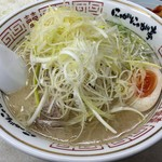 にゃがにゃが亭 - 料理写真:「葱らうめん」780円也。税込。