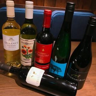 自然派ワインが充実★お好みをご提供します!