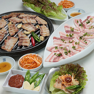 本格韓国料理を食べ尽くす。お手軽&贅沢コース◆3,000円~