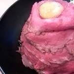 80103965 - レアローストビーフ丼