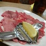 日の出焼肉 - 料理写真:塩タン