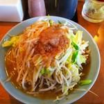 立川マシマシ ロイヤルスープ - 料理写真:中ラーメン300㌘。¥750