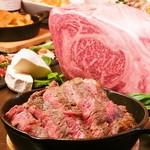 A muse - 肉×チーズコース:特選国産リブロースステーキ