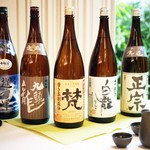 日本料理 桜ばし - 福井の地酒各種