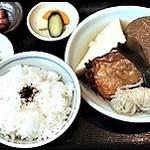福島屋 - おでん定食