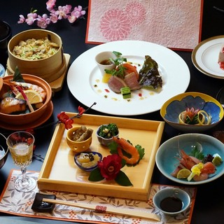 京料理をベースとした和食がウリの【ご夕食】