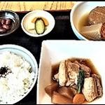 福島屋 - 角煮定食