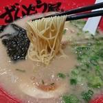 ラー麺 ずんどう屋 - 料理写真:麺は細麺をチョイス