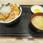 80113811 - 大雪さんろく笹豚丼 並盛 850円