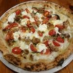 80114802 - Pizza Salsciccia e Ricotta サルシッチャとフレッシュトマトとリコッタチーズ
