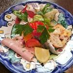80115820 - Antipasto misto 前菜の盛合せ