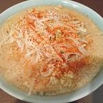 80116908 - 小(麺少なめ、ニンニク、トウガラシ)