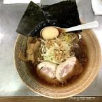 覆麺 智 - 味玉覆麺ラーメン醤油(980円)