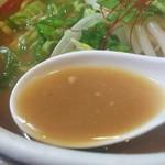 80118097 - 濃い味噌スープ
