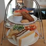 Cafe茶珈 - アフタヌーンティセット(14:00~17:30)
