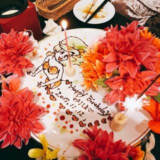 SNS映え抜群★誕生日にフォトジェニックなサプライズケーキ♪