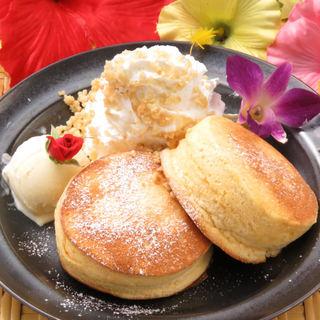 ≪平日限定≫究極とろふわ♥糸島卵のプレミアムパンケーキ◎