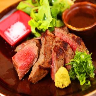 【鉄板料理人気NO.1】岡山産黒毛和牛ステーキ