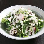肉十八番食堂 - シーザーサラダ