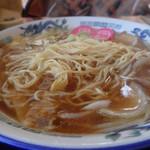 麺通館 - 麺は、、、