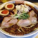 サバ6製麺所 - 【サバ醤油そば + 味玉】¥700 + ¥100