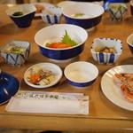 五色温泉旅館 - 夕食