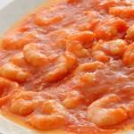 フィオーレ - 干焼蝦仁(エビチリソース煮)