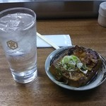 80125409 - 酎ハイ(ボール)と肉豆腐