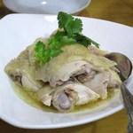 美楽一杯 - 白切鶏(名古屋コーチンの蒸し)
