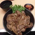 80127631 - 炭火焼肉丼(上) 肉1.5人前(150g) 990円