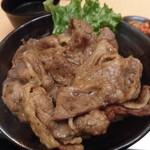 80127665 - 炭火焼肉丼(上) 肉1.5人前(150g) 990円