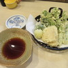手打ち蕎麦 雷鳥 - 料理写真:「春野菜の天麩羅」