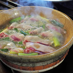80129305 - 白味噌の猪鍋
