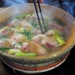 80129330 - 白味噌の猪鍋