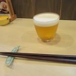 80129750 - 生ビールの小グラス