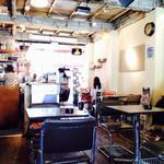 cafe croix - 店内
