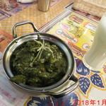 インド・ネパール料理 タァバン - ほうれん草野菜カレー