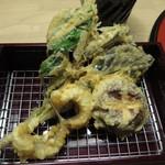 天ぷら やす田 - めごちが最高です