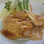 駅前食堂 - 生姜焼き