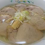 滋養軒 - 塩チャーシューメン