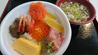 青森魚菜センター 本店 - のっけ丼