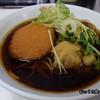 深大寺門前そば - 料理写真:えび天そば+コロッケ