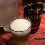 養老乃瀧  - 瓶ビール(大)とすだちサワーで乾杯