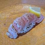 グルメ回転寿司 函太郎 - 炙りトロ