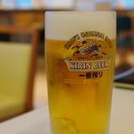 ビューレストラン スカイライン - 生ビール